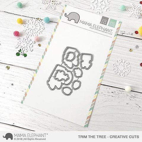 Mama Elephant - Trim The Tree - Creative Cuts