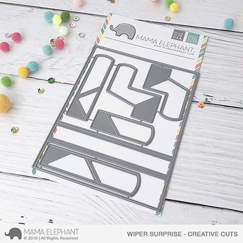 Mama Elephant - Wiper Surprise - Creative Cuts