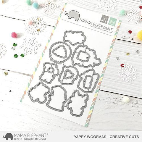 Mama Elephant - Yappy Woofmas - Creative Cuts