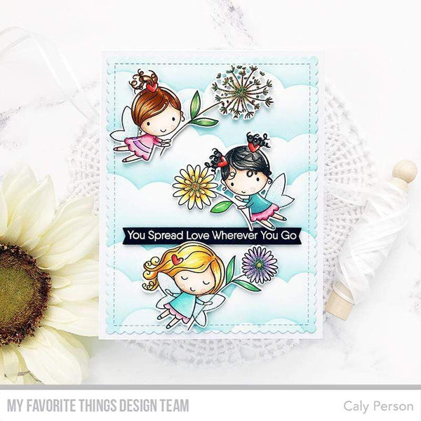 My Favorite Things - Flower Fairies Clear Stamps