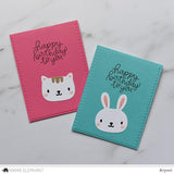 Mama Elephant - Inside Pop - Bunny And Cat - Creative Cuts