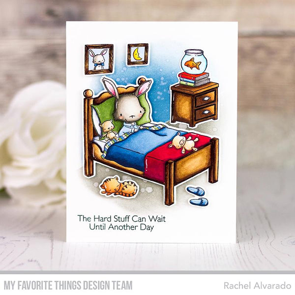 My Favorite Things - All Tucked In Clear Stamps