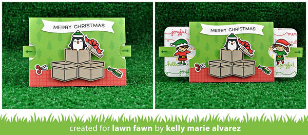 Lawn Fawn - double slider surprise