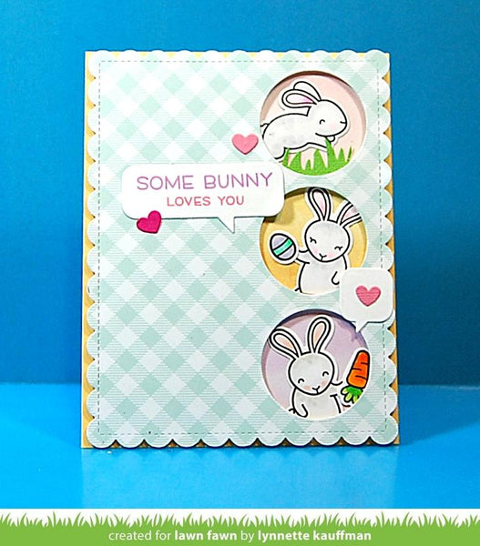 Lawn Fawn - gotta have gingham petite paper pack 6x6""