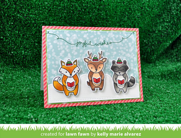 Lawn Fawn - winter scripty sayings