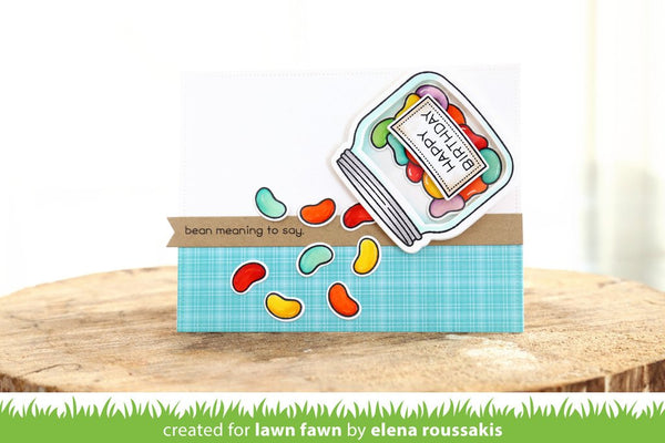 Lawn Fawn - how you bean? shaker add-on