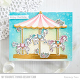 My Favorite Things - Carousel Horses