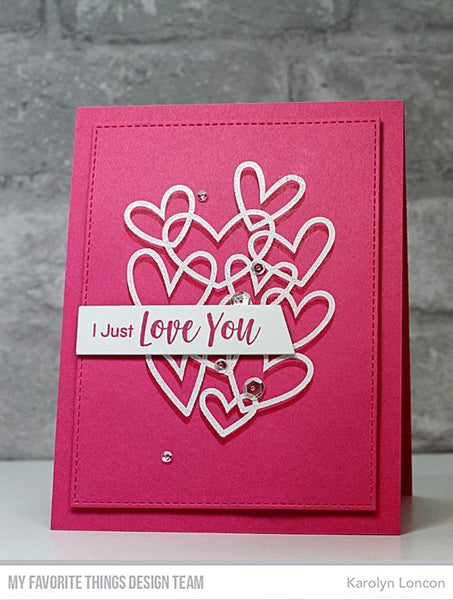 My Favorite Things - Hearts Entwined Clear Stamps