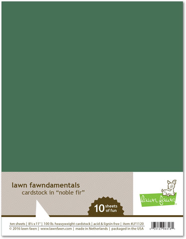 Lawn Fawn - Noble Fir Cardstock