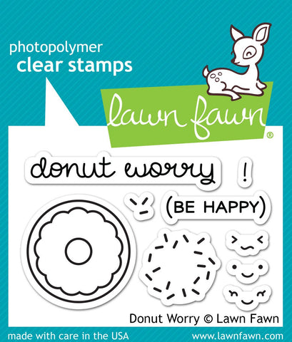 Lawn Fawn - donut worry