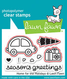 Lawn Fawn - Home For The Holidays - Lawn Cuts