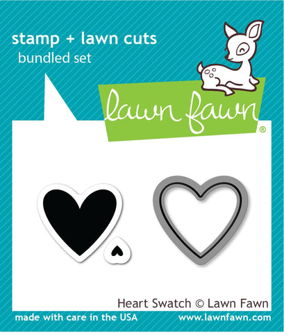 Lawn Fawn - heart swatch