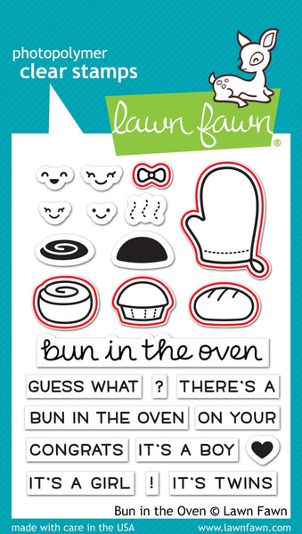 Lawn Fawn - Bun In The Oven