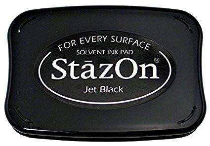 Stazon inkt Jet Black
