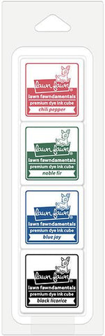 Lawn Fawn - Christmas Tree Lot Ink Cube Pack