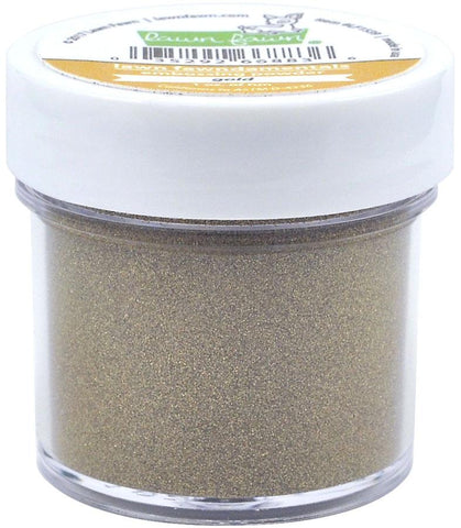 Lawn Fawn - gold embossing powder