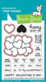 Lawn Fawn - how you bean? Conversation Heart add-on - lawn cuts
