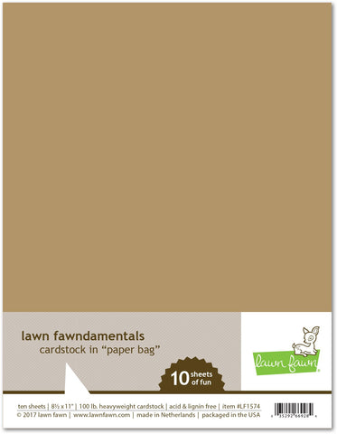 Lawn Fawn - Paper Bag Cardstock
