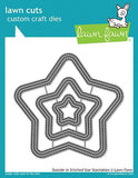 Lawn Fawn - outside in stitched star stackables