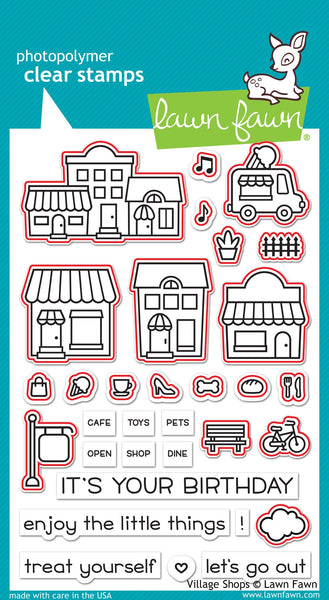 Lawn Fawn Die Cuts Village Shops