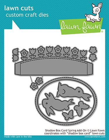 Lawn Fawn - Shadow Box Card Spring Add-On