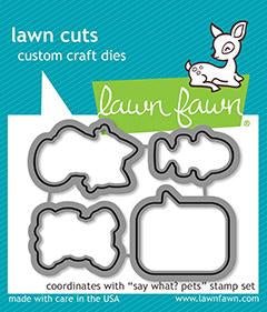 Lawn Fawn - Say What? Pets - Lawn Cuts