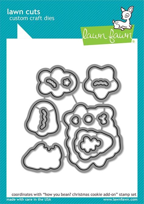 Lawn Fawn - How You Bean? Christmas Cookie Add-On - Lawn Cuts