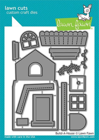 Lawn Fawn - Build-a-House