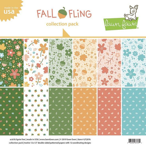 Lawn Fawn - Fall Fling Collection Pack 12x12""