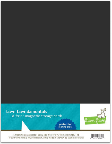 "Lawn Fawn - Magnetic Storage Cards - 8.5"" x 11"""