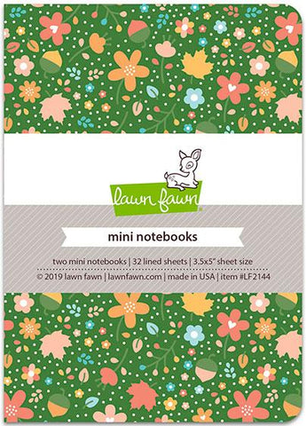 Lawn Fawn - Fall Fling - Mini Notebooks