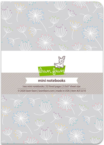 Lawn Fawn - Dandy Day - Mini Notebooks