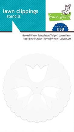 Lawn Fawn - Reveal Wheel Templates: Tulip