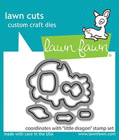 Lawn Fawn - Little Dragon - Lawn Cuts