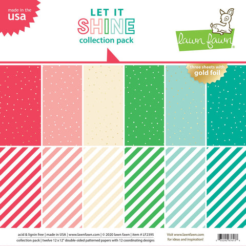 Lawn Fawn - Let It Shine - Collection Pack