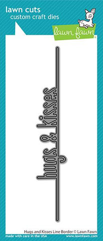 Lawn Fawn - Hugs And Kisses Line Border