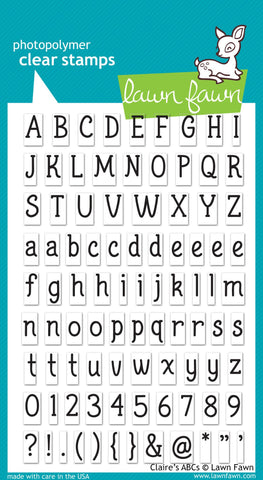 Lawn Fawn - Claire's ABCs