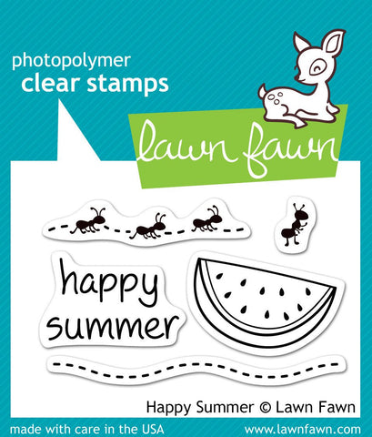 Lawn Fawn - Happy Summer