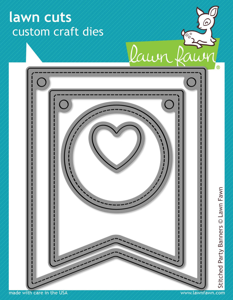 Lawn Fawn - Stitched Party Banners