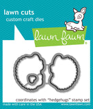 Lawn Fawn - hedgehugs - lawn cuts