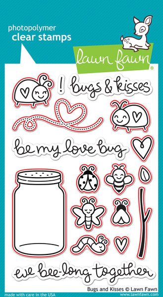 Lawn Fawn - Bugs And Kisses Lawn-Cuts