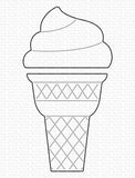 My Favorite Things - Ice Cream Cone Die-Namics