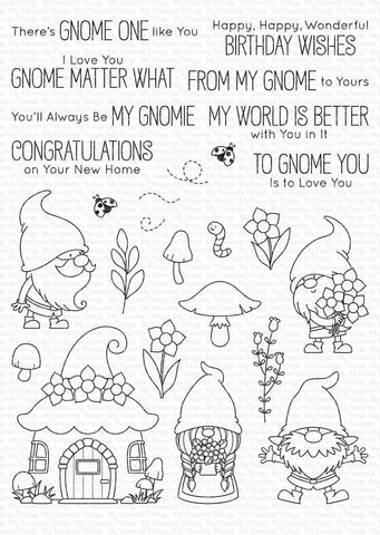 My Favorite Things - Hanging with My Gnomies Clear Stamps