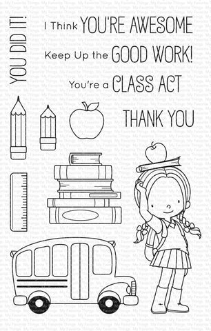 My Favorite Things - Class Act Clear Stamps