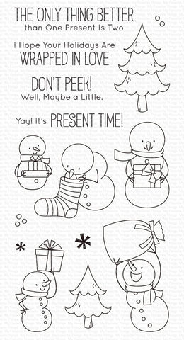 My Favorite Things - Present Time Clear Stamps