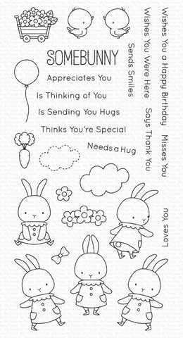 My Favorite Things - Somebunny Clear Stamps