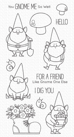 My Favorite Things - You Gnome Me Clear Stamps