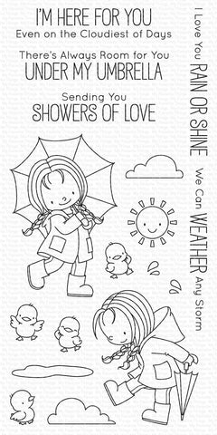 My Favorite Things - Rain or Shine Clear Stamps