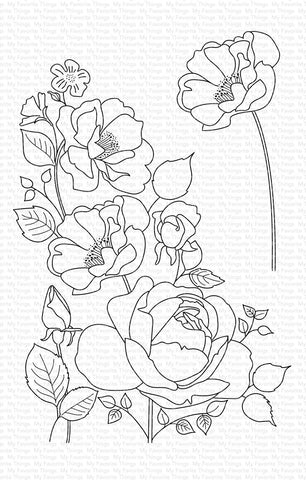 My Favorite Things - Rose Garden Clear Stamps