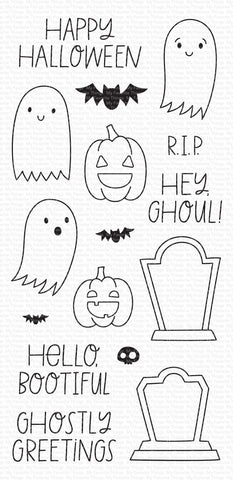 My Favorite Things - Ghostly Greetings Clear Stamps